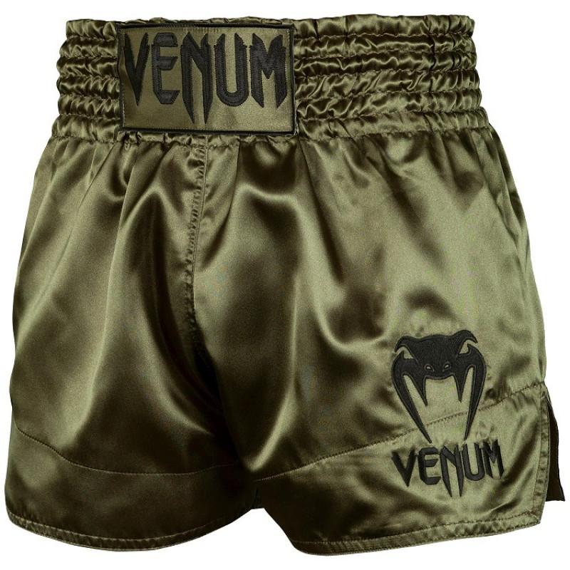 Шорты Venum Muay Thai Shorts Classic Khaki/Black (01733) фото 1