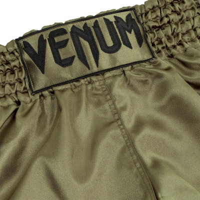 Шорты Venum Muay Thai Shorts Classic Khaki/Black (01733) фото 5