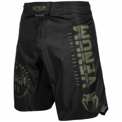 Шорти Venum Signature Fightshorts Black/Хакі