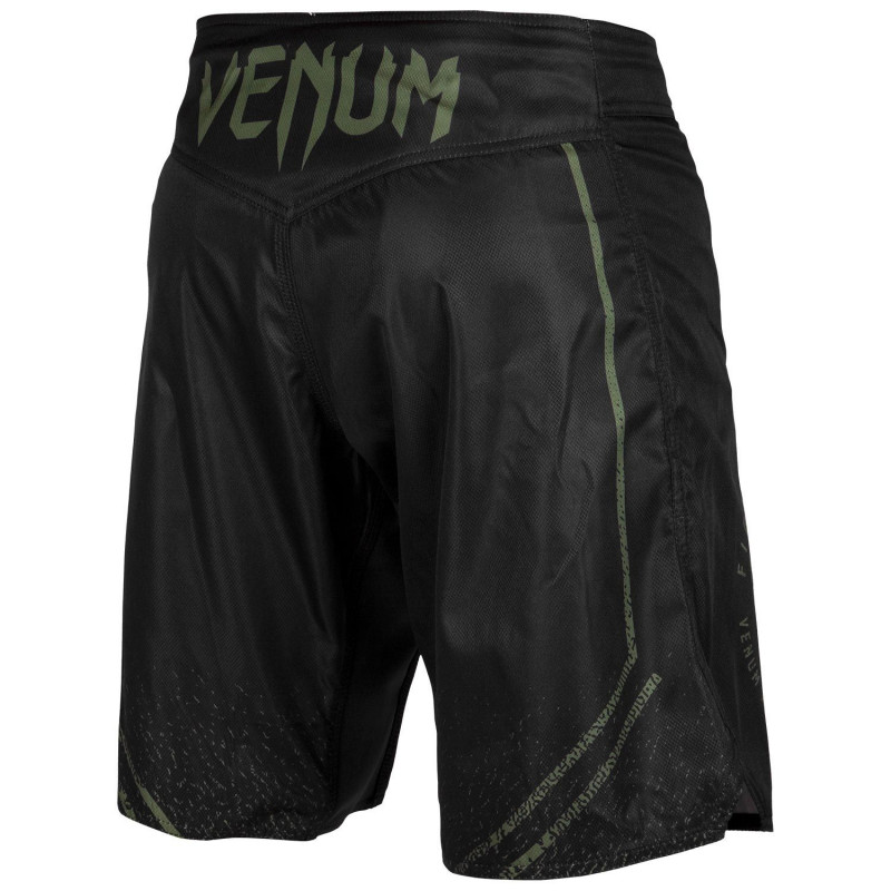 Шорты Venum Signature Fightshorts Black/Khaki (01738) фото 2