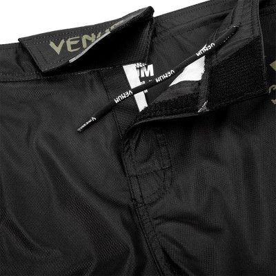 Шорты Venum Signature Fightshorts Black/Khaki (01738) фото 8
