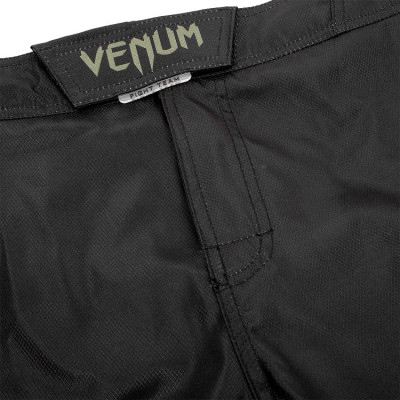 Шорты Venum Signature Fightshorts Black/Khaki (01738) фото 7