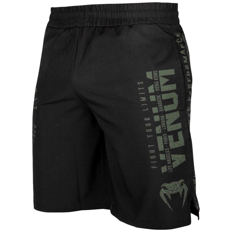 Шорты Venum Signature Training Shorts Black/Khaki (01744) фото 1