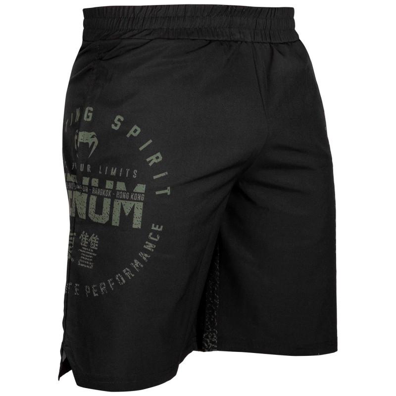 Шорты Venum Signature Training Shorts Black/Khaki (01744) фото 3