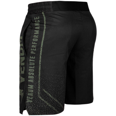 Шорты Venum Signature Training Shorts Black/Khaki (01744) фото 2