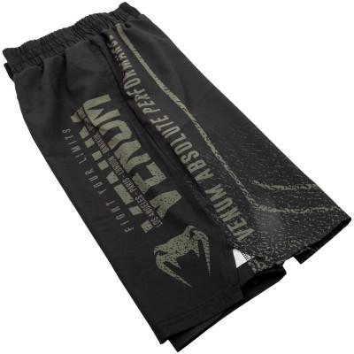 Шорты Venum Signature Training Shorts Black/Khaki (01744) фото 5