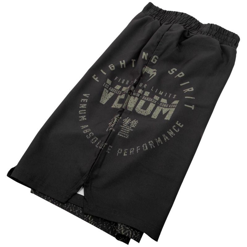 Шорты Venum Signature Training Shorts Black/Khaki (01744) фото 7