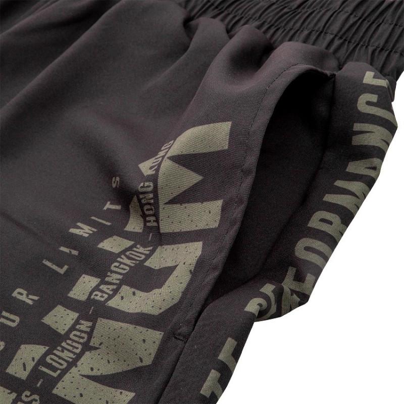 Шорты Venum Signature Training Shorts Black/Khaki (01744) фото 8