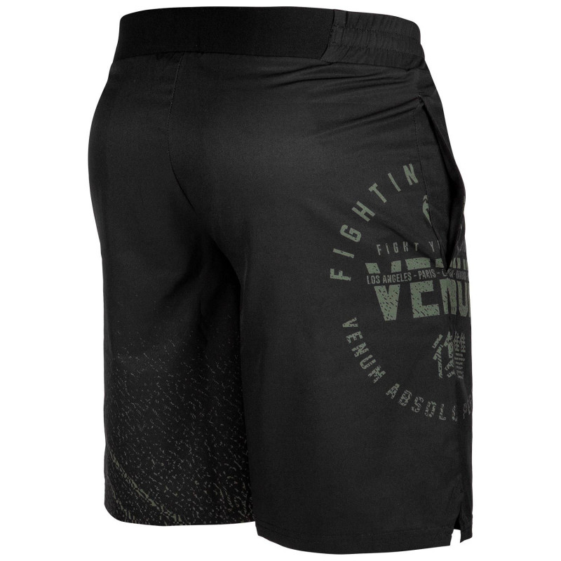 Шорты Venum Signature Training Shorts Black/Khaki (01744) фото 4