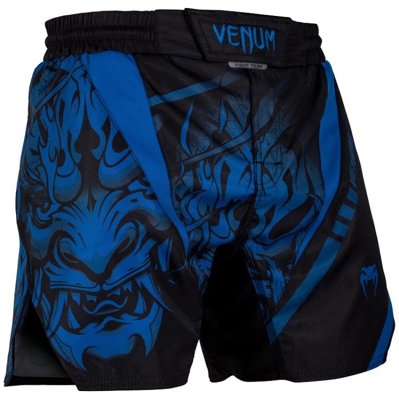 Шорты Venum Devil Fightshorts Navy Blue (01564) фото 3