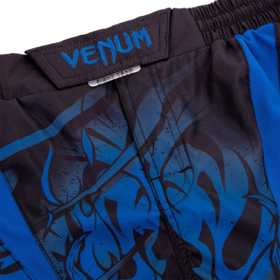 Шорты Venum Devil Fightshorts Navy Blue (01564) фото 5