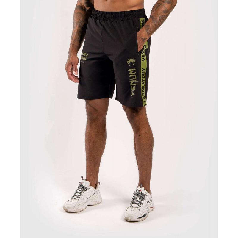 Шорты Venum Boxing Lab Training shorts Black/Green (02054) фото 1