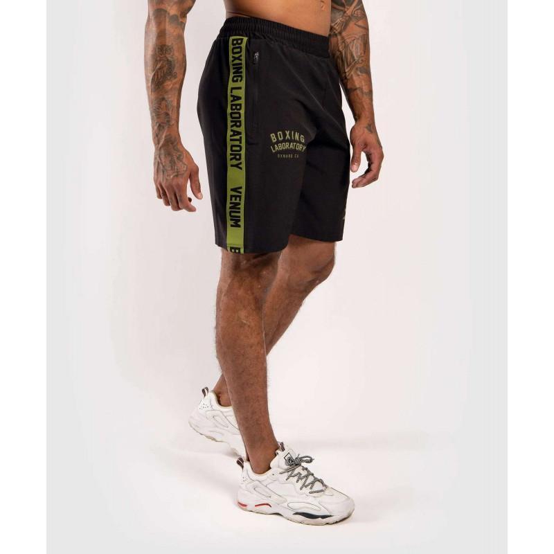 Шорты Venum Boxing Lab Training shorts Black/Green (02054) фото 3