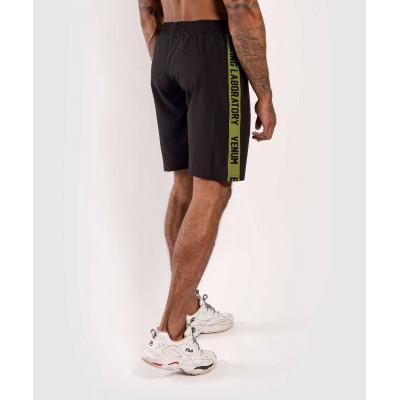 Шорты Venum Boxing Lab Training shorts Black/Green (02054) фото 4
