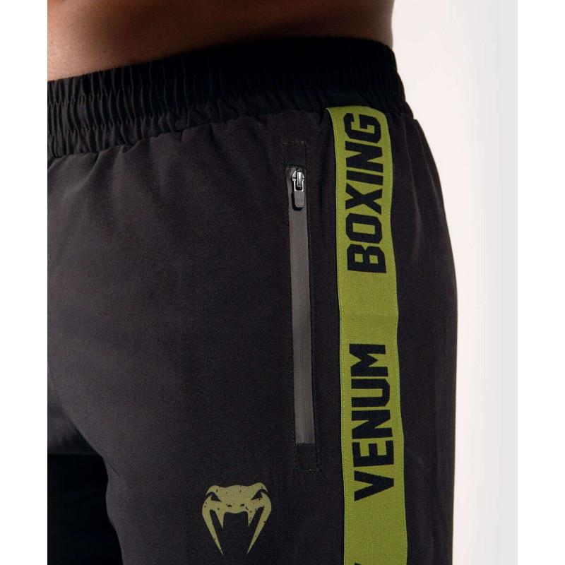 Шорты Venum Boxing Lab Training shorts Black/Green (02054) фото 5