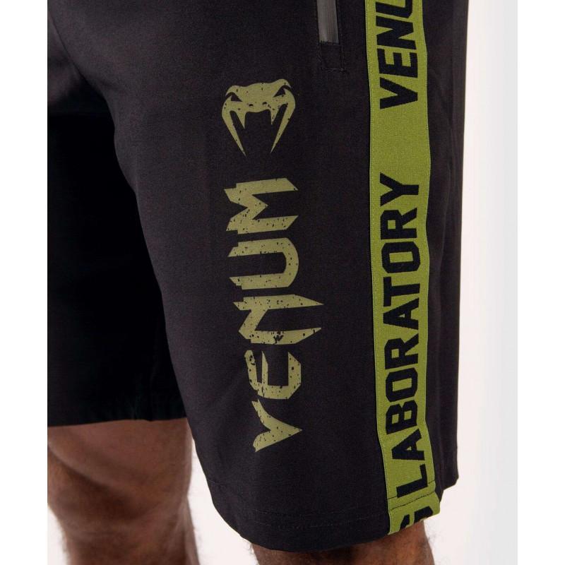 Шорты Venum Boxing Lab Training shorts Black/Green (02054) фото 6