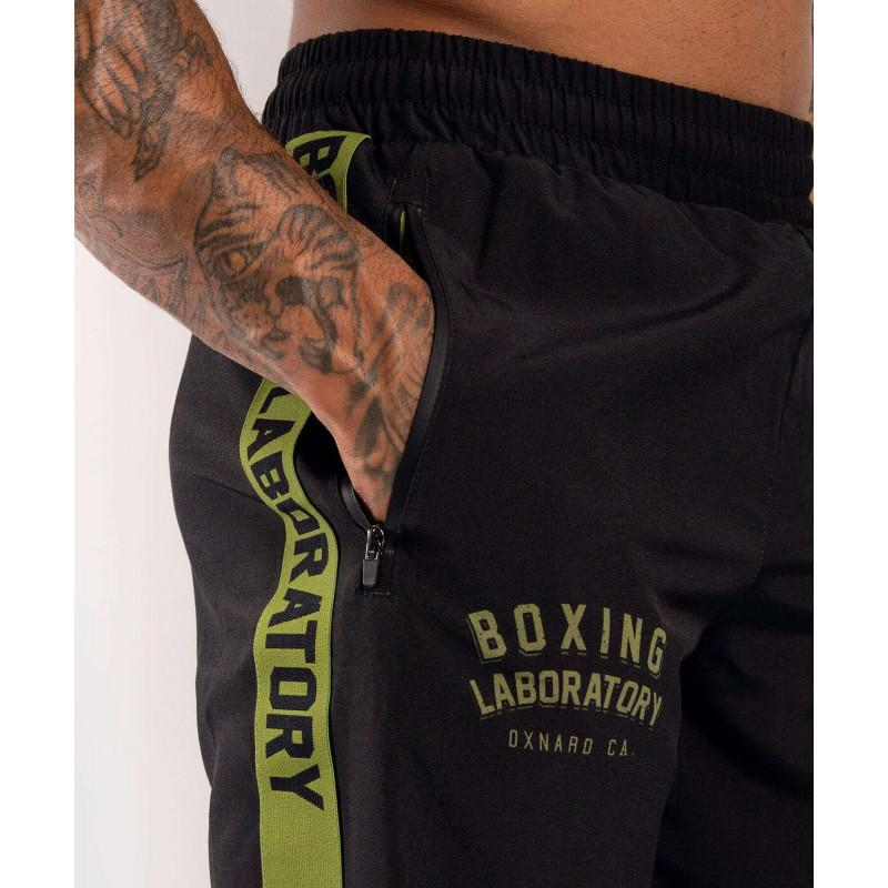 Шорты Venum Boxing Lab Training shorts Black/Green (02054) фото 7