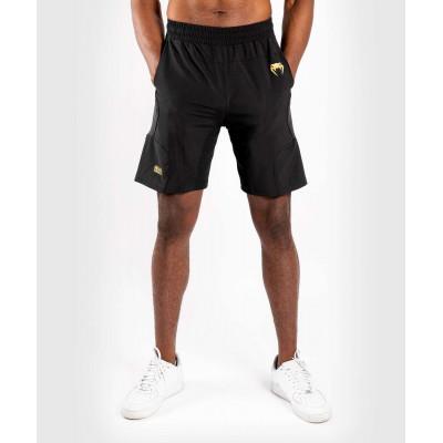 Шорти Venum G-Fit Training Shorts Black/Gold (02144) фото 1
