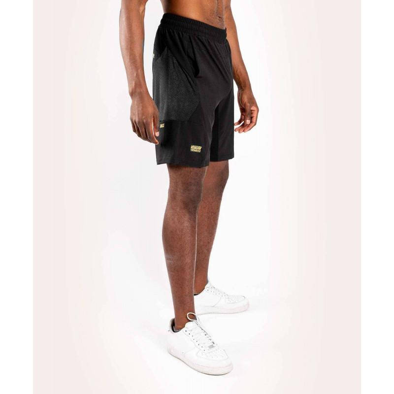 Шорти Venum G-Fit Training Shorts Black/Gold (02144) фото 4