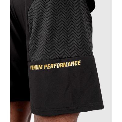 Шорти Venum G-Fit Training Shorts Black/Gold (02144) фото 7