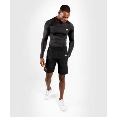Шорти Venum G-Fit Training Shorts Black/Gold (02144) фото 8