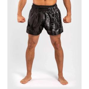 Шорти Venum Logos Muay Thai Shorts Black/Black