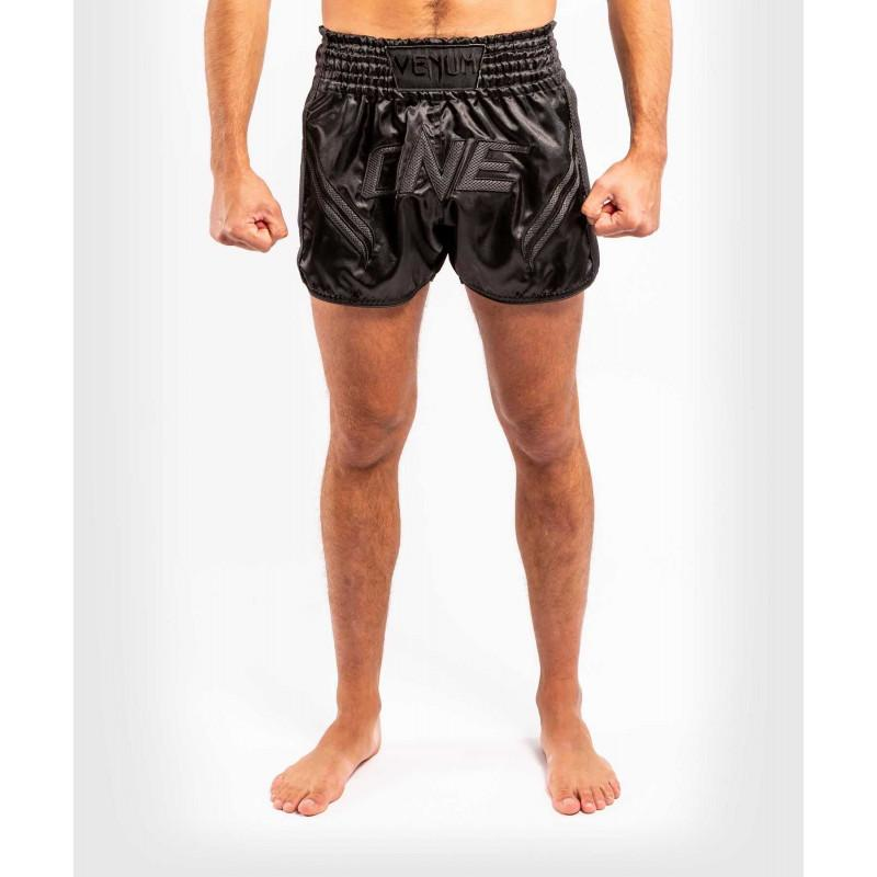 Шорти Venum ONE FC Impact Muay Thai Shorts Black/Black (02172) фото 3