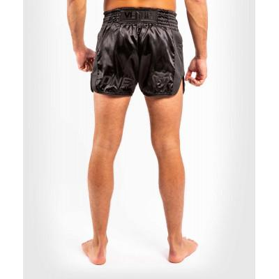 Шорти Venum ONE FC Impact Muay Thai Shorts Black/Black (02172) фото 4