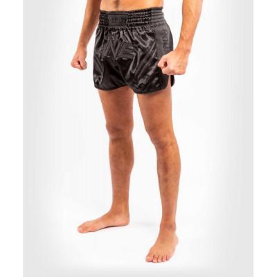 Шорти Venum ONE FC Impact Muay Thai Shorts Black/Black (02172) фото 5