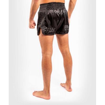 Шорти Venum ONE FC Impact Muay Thai Shorts Black/Black (02172) фото 6