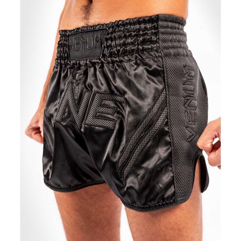 Шорти Venum ONE FC Impact Muay Thai Shorts Black/Black (02172) фото 1