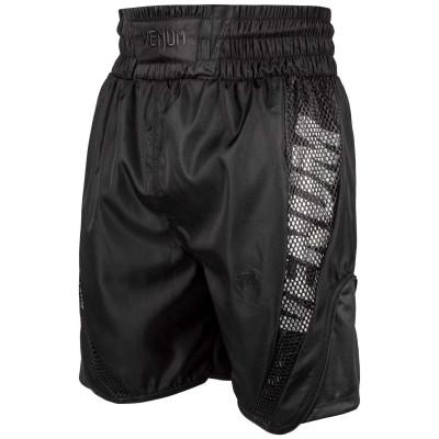 Боксёрские шорты Venum Elite Boxing Shorts Черные (01816) фото 1