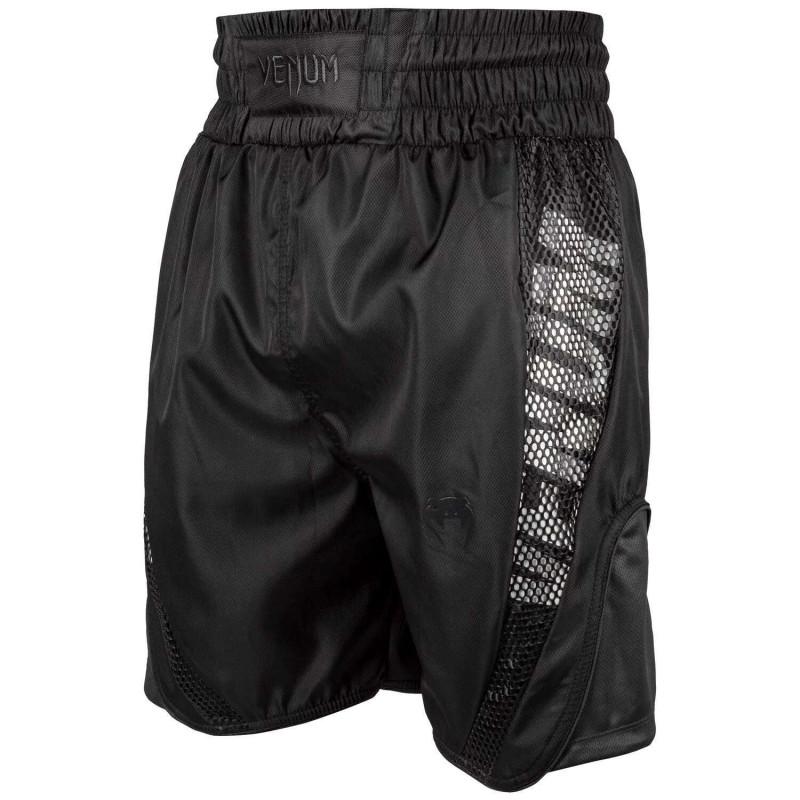 Боксерські шорти Venum Elite Boxing Shorts Чорні (01816) фото 1