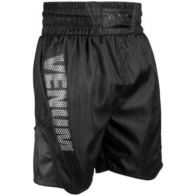 Боксёрские шорты Venum Elite Boxing Shorts Черные (01816) фото 3
