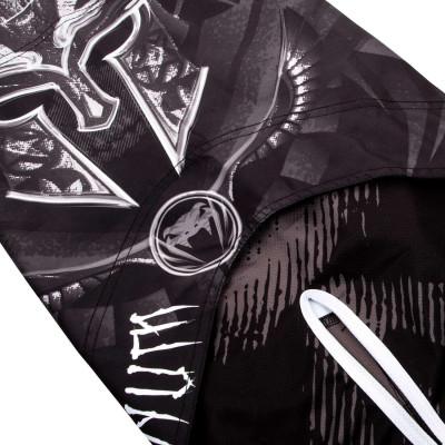 Шорти Venum Gladiator 3.0 Fightshorts Чорно-білі (01820) фото 8