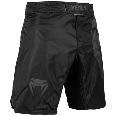 Шорты Venum Light 3.0 Fightshorts Черные/Темный камуфляж (01817) фото 3