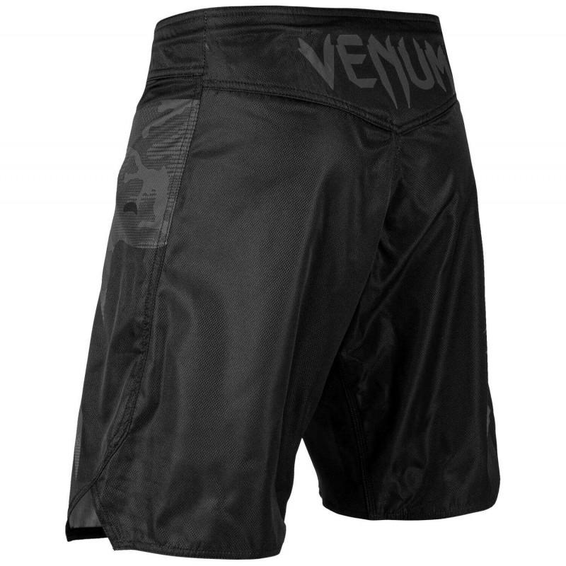 Шорты Venum Light 3.0 Fightshorts Черные/Темный камуфляж (01817) фото 4