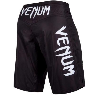 Шорты Venum Light 3.0 Fightshorts Чёрно-белые (01815) фото 2