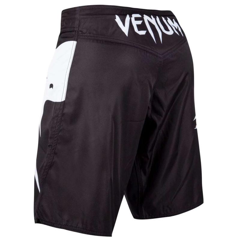 Шорты Venum Light 3.0 Fightshorts Чёрно-белые (01815) фото 4