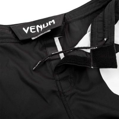 Шорты Venum Light 3.0 Fightshorts Чёрно-белые (01815) фото 5