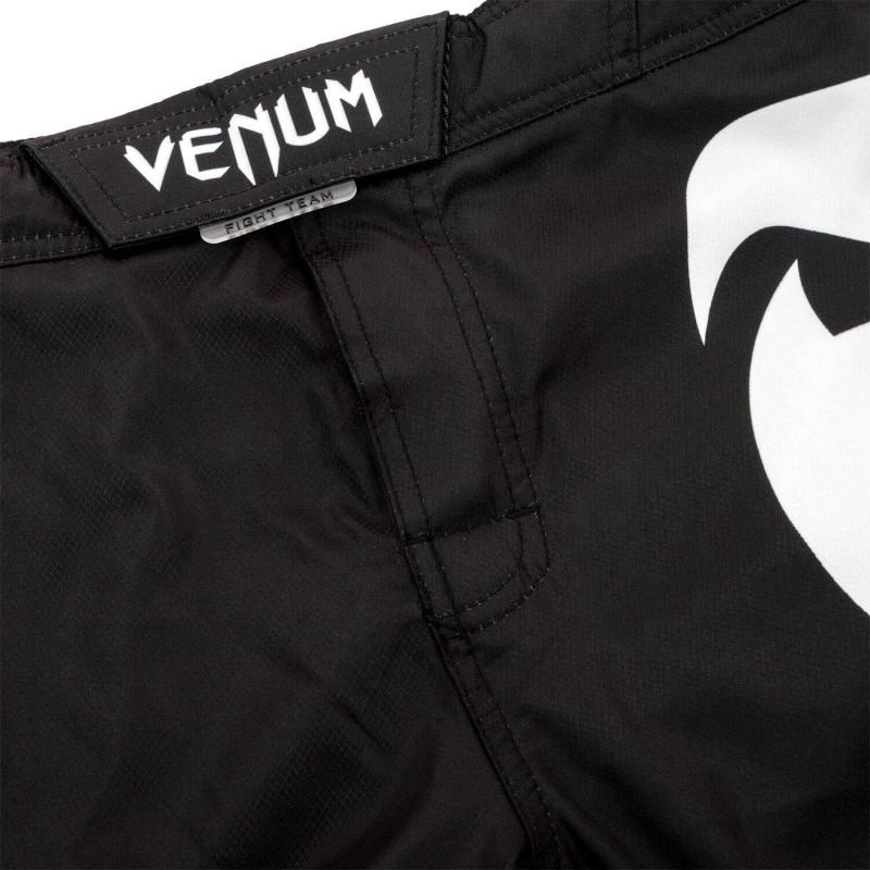 Шорты Venum Light 3.0 Fightshorts Чёрно-белые (01815) фото 7
