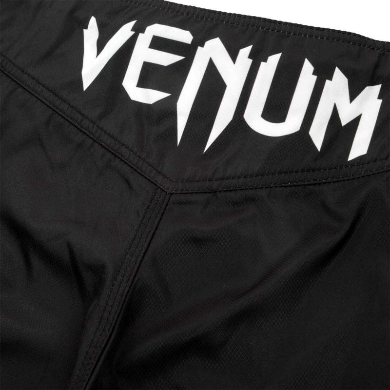 Шорты Venum Light 3.0 Fightshorts Чёрно-белые (01815) фото 6