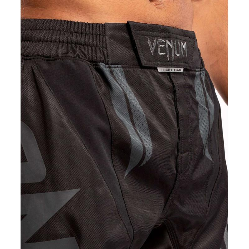 Шорти Venum ONE FC Impact Fightshorts Black/Black (02088) фото 6