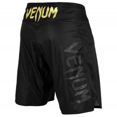 Шорти Venum Light 3.0 Fightshorts Чорні/Золоті (01818) фото 2