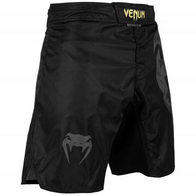 Шорти Venum Light 3.0 Fightshorts Чорні/Золоті (01818) фото 3