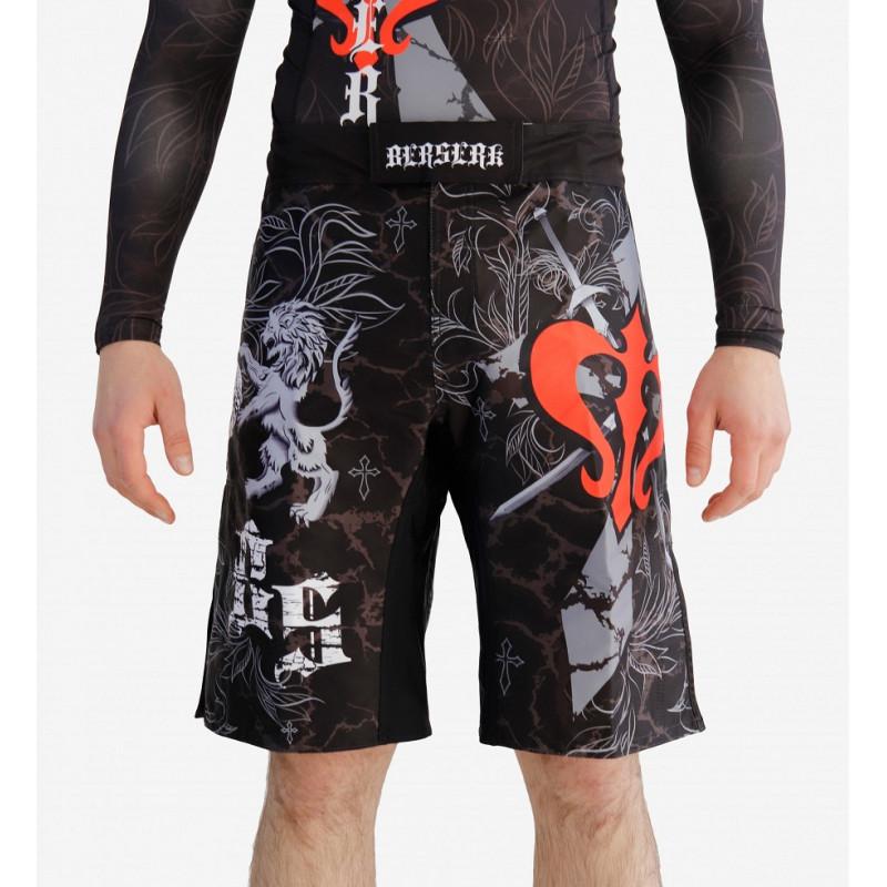 Шорты MMA Berserk Warrior Spirit (01761) фото 1