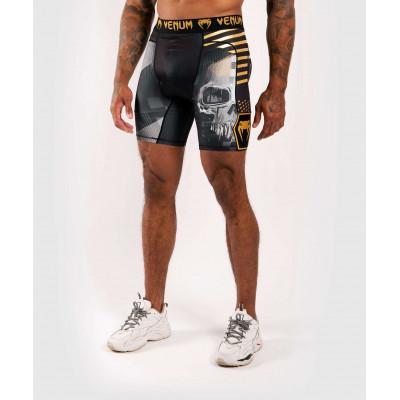 Компресійні шорти Venum Skull shorts Black (01954) фото 1