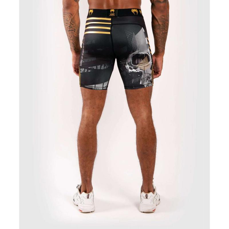 Компресійні шорти Venum Skull shorts Black (01954) фото 2