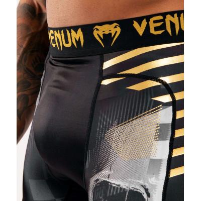 Компресійні шорти Venum Skull shorts Black (01954) фото 5
