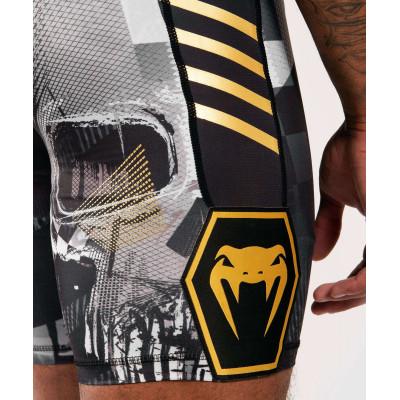 Компресійні шорти Venum Skull shorts Black (01954) фото 6